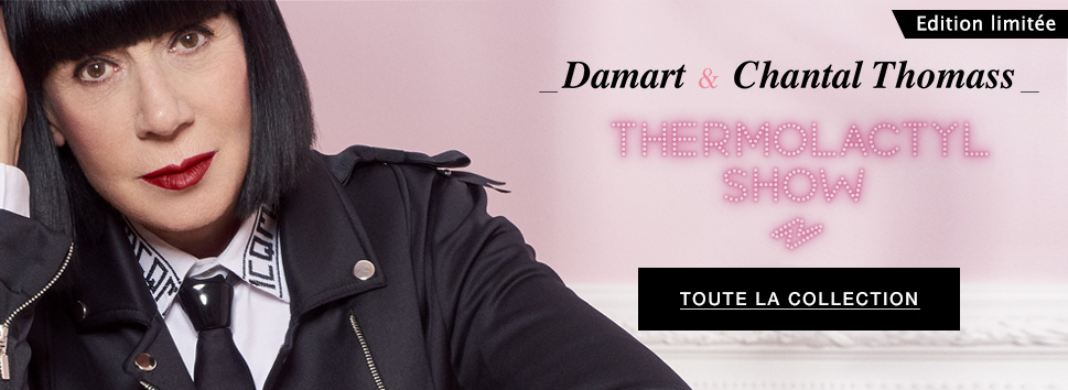 Chantal Thomass et Damart : Thermolactyl Show