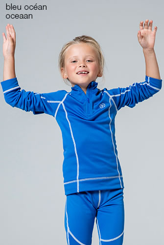 T-shirt kids ronde hals Damart Sport, Easy Body Thermolactyl®