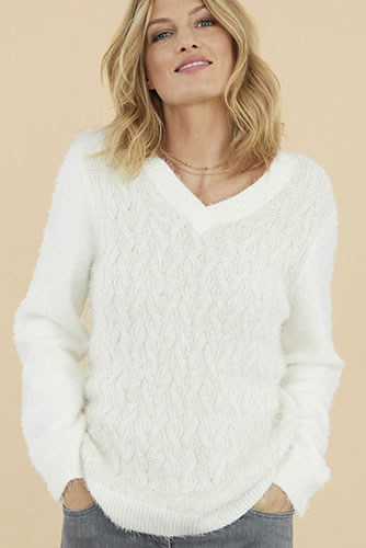 Pull harig kabeltricot, Thermolactyl®