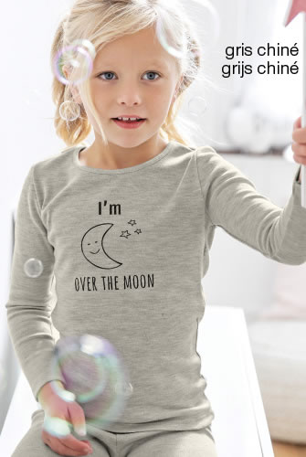 "T-shirts kids Thermolactyl® ""maan"""