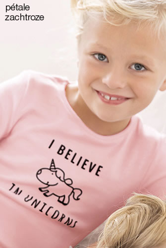 "T-shirts kids Thermolactyl®  ""eenhoorn"""