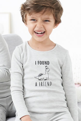 "T-shirts enfants Thermolactyl® ""dinosaure"""