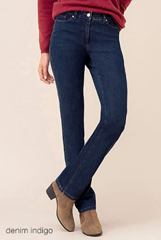 "5-pocketjeans ""platte buik"" Perfect Fit by Damart® Recht model"