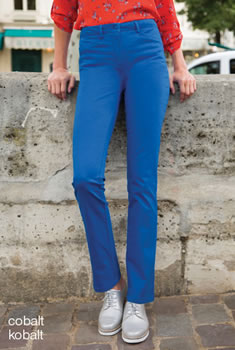 "Broek, slim fit, pand voor ""platte buik"", Perfect Fit by damart®"