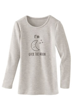 "T-shirts enfants Thermolactyl® ""lune"""