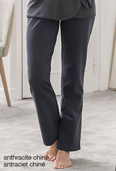 Pantalon pyjama molleton stretch