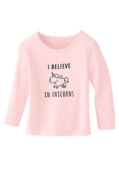 "T-shirts enfants Thermolactyl® ""licorne"""