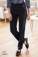 Pantalon pull-on fluide et stretch
