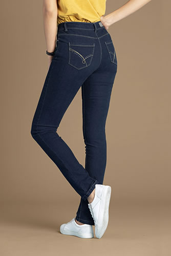 "5-pocketjeans ""platte buik"" Perfect Fit by Damart® Slim fit"