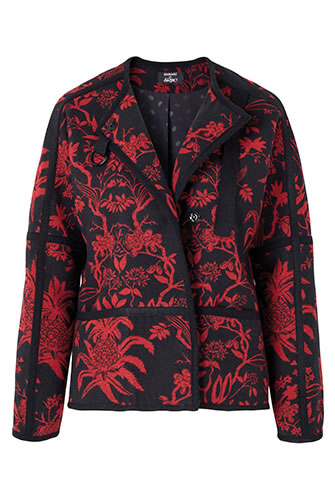 Veste Thermolactyl® Damart x Monsieur Christian Lacroix