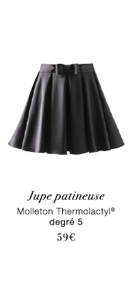 Jupe patineuse Thermolactyl® - 59€