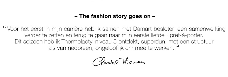The fashion story goes on !