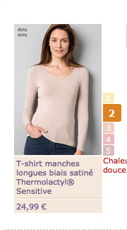 T-shirt longues manches - 24€99