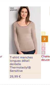 T-shirt manches longues - 29€99