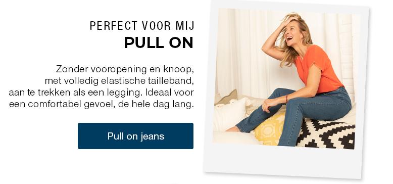 Pull on jeans