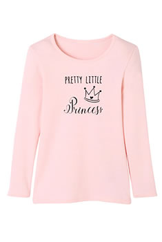 "T-shirts kids Thermolactyl® ""princess"""